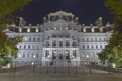 Eisenhower Administration Building Stock Photos