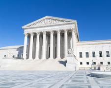 US Supreme Court (angled view) Stock Photos