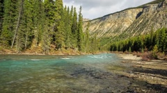 Bow river Stock Footage