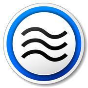 Flood icon Stock Illustration