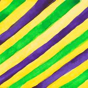 Watercolor paint vector background for mardi gras Piirros