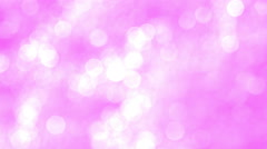 Blurred Light Pink Sparkles - stock footage