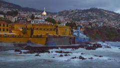 Funchal. Madeira, Portugal Stock Footage