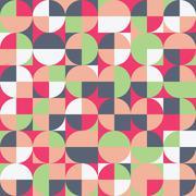 Abstract Retro Background Stock Illustration