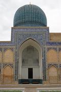 Mausoleum, Samarkand, Uzbekistan - stock photo