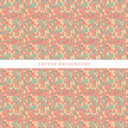 Abstract Retro Background - stock illustration