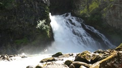 A Waterfall in Tirol - stock footage