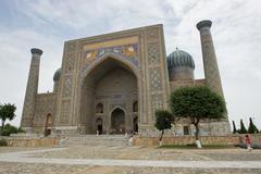 Registon, Samarkand, Uzbekistan Stock Photos