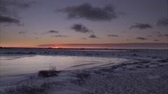 Arctic scenics, Churchill, Manitoba, Canada Stock Footage