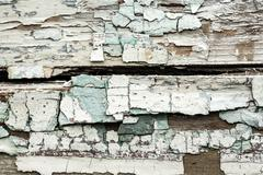 grunge wall with peeling paint texture - stock illustration