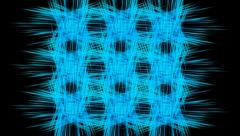 Abstraction intersection of line. Alpha chanel (PNG codec) at the end Stock Footage