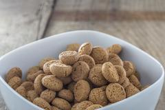 amarettini cookies - stock photo