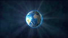 Earth light - stock footage