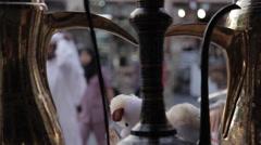 Souq Waqif, Street Scene, Doha, Qatar, Middle East - stock footage