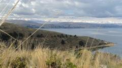 Titicaca lake bolivia Stock Footage