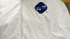 Ebola Training - stock footage