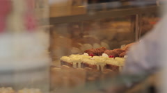 Chocolate Shop, Paris, France, Europe Stock Footage