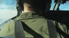 963rd Airborne Air Control Squadron Conducts Aerial Refueling Stock Footage