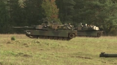 2-12 cav and 91st en conduct breaching operations Stock Footage