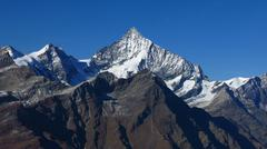 Majestic Weisshorn Stock Photos
