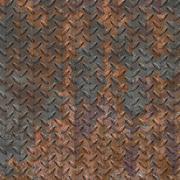 Very rusty galvanized texture Stock Illustration