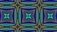 Morphing kaleidoscope zoom background - 1080p Stock Footage
