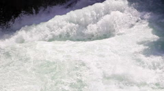 Water flow in the mountains. Tajikistan. Iskanderdarya. 1280x720 Stock Footage