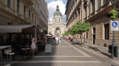 St. Stephen's Basilica, Budapest, Hungary, Europe Stock Footage
