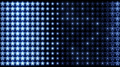 Led Snowflakes 02 Stock Footage