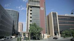 Azeriqaz in Baku, Azerbaijan - stock footage