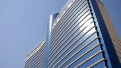 Stock Video Footage of Hilton hotel in Baku, Azerbaijan