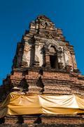 ancient pagoda around chiangmai, thailand. - stock photo