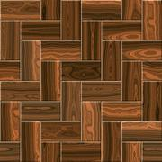 Wooden parquet,  laminate flooring for seamless background Stock Illustration
