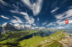 The Swiss Alps Stock Photos