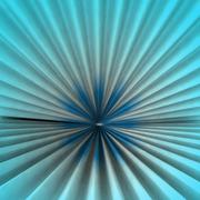 radial abstract symmetric blue colored shape background rendering backdrop - stock illustration