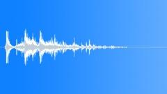 Metallic rattle shake - sound effect