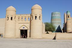 Khiva, Uzbekistan, Asia - stock photo