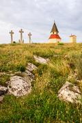 calvary, nitra, slovakia - stock photo