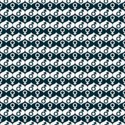 Blue and white male and female gender symbol repeat pattern background Stock Illustration
