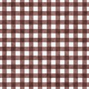brown gingham pattern repeat background - stock illustration