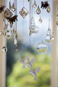 Close-up of a wind chime Stock Photos