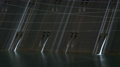 Spillway and Power Lines at Grand Coulee Dam, 4K Stock Footage