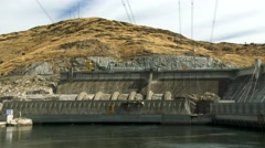 Grand Coulee Dam in Eastern Washington, 4K Stock Footage