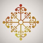 Stock Illustration of illustration of snowflake. illustration of winter. vector illustration