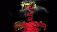 Other demonic skeleton Stock Footage
