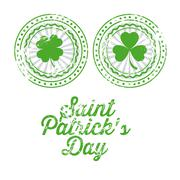illustration of saint patrick's day, celebration of holiday, vector illustration - stock illustration