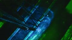 Sunken ship pirate ship Stock Footage