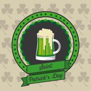 Stock Illustration of illustration of saint patrick's day, celebration of holiday, vector illustration