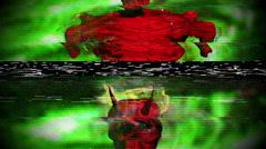 The devil demon demonic Stock Footage