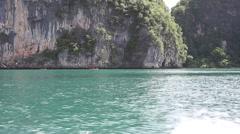 Azure water sea Stock Footage
